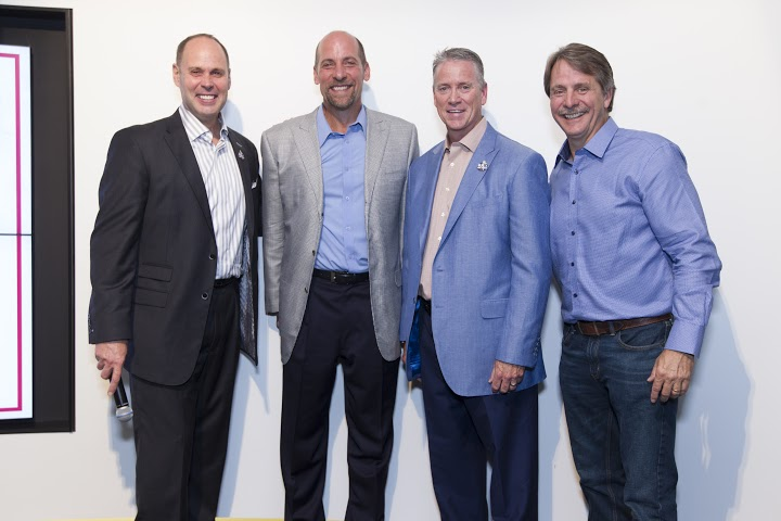 CSE celebrates an evening with John Smoltz before his induction to the MLB Hall of Fame. Photo: Mark Hill