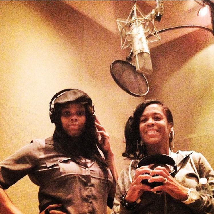 """Three days off at home. Debra Killings and I were called by Andre to record on a song he was producing for Aretha Franklin's new record! It was a remake of Prince's ""Nothing Compares 2 U. I was STOKED!"""