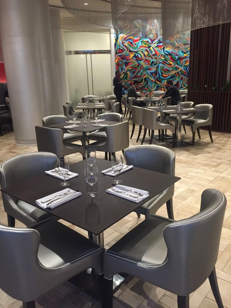 JP Atlanta's dining room.