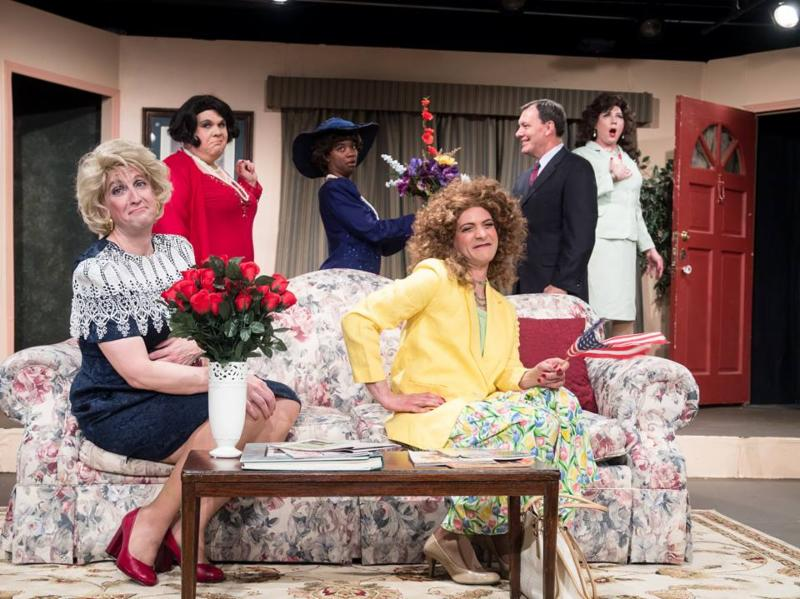 "The cast of ""Designing Women Live"" at OnStage Atlanta."