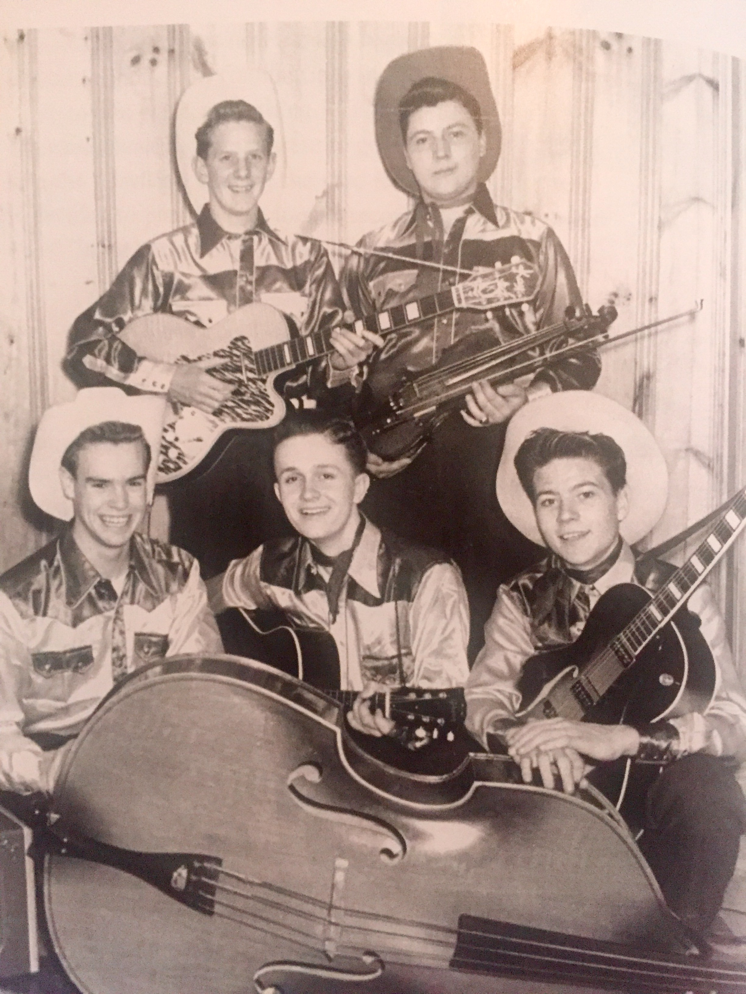 "Avondale High's Bill Anderson with his teen group, The Avondale Playboys from his new UGA Press memoir, ""An Unprecedented Life In Country Music."""
