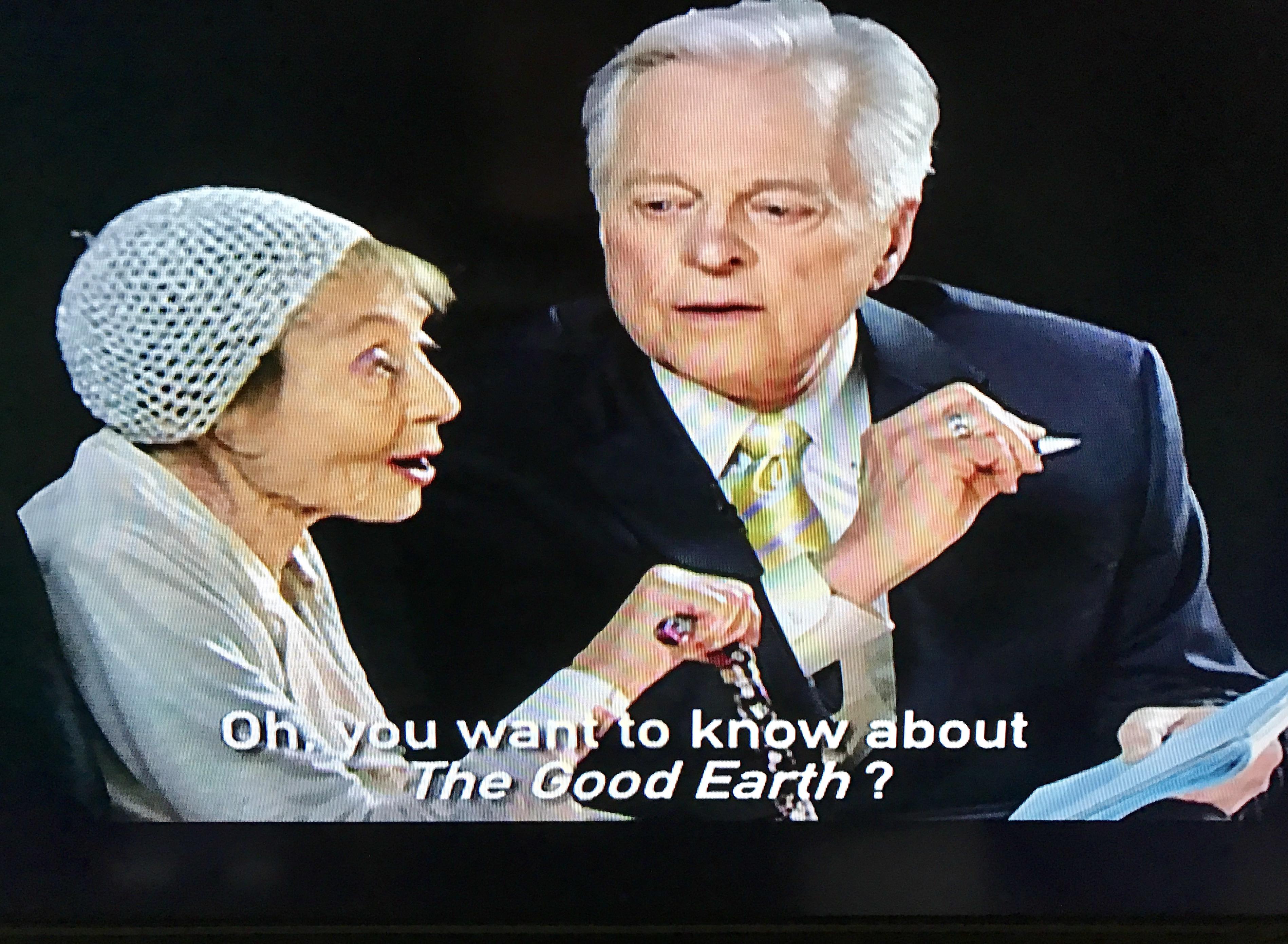 Osborne with 100-year-old Oscar winner Luise Rainer.