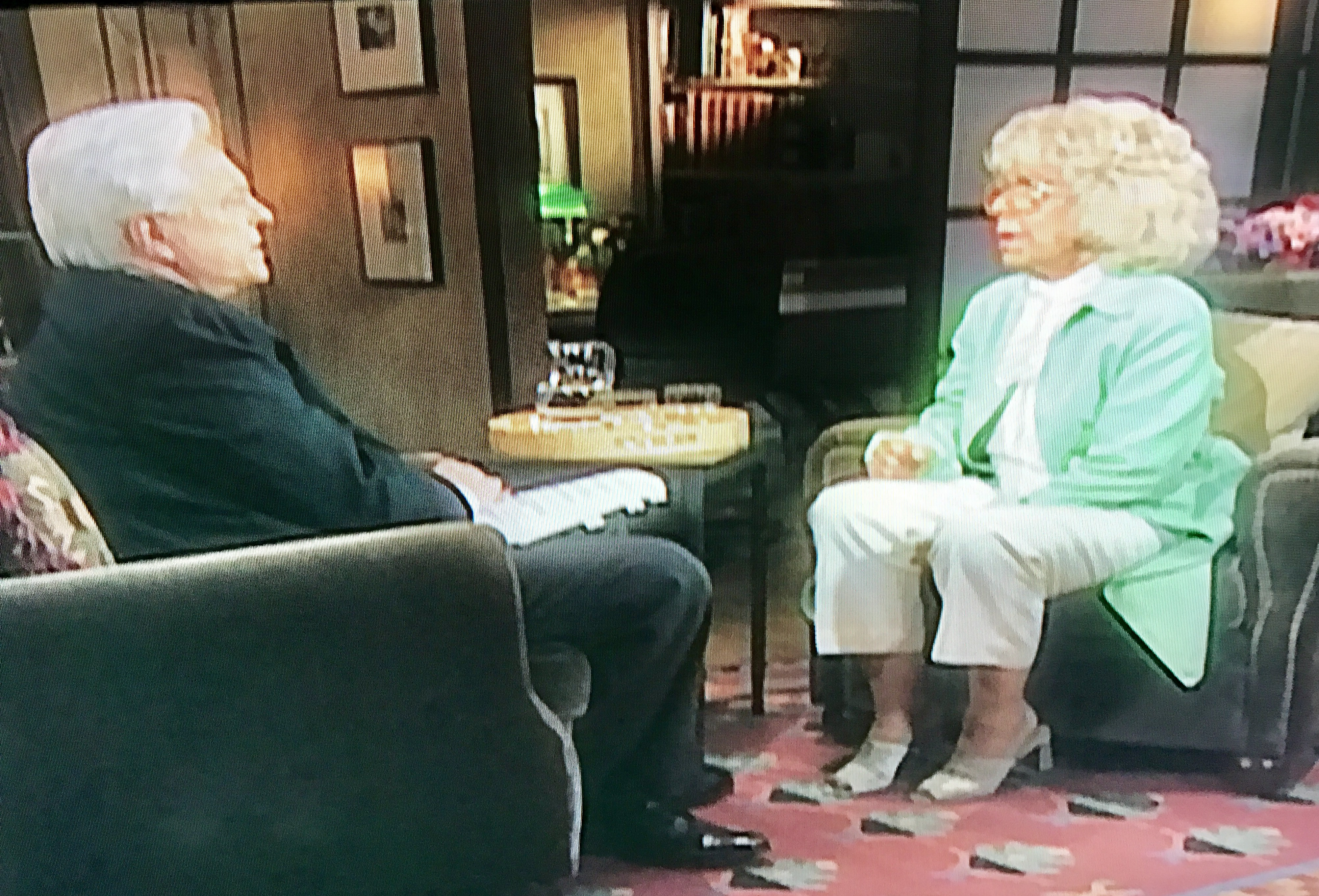 Osborne's 2000 interview with reclusive star Betty Hutton was one of his biggest coups.