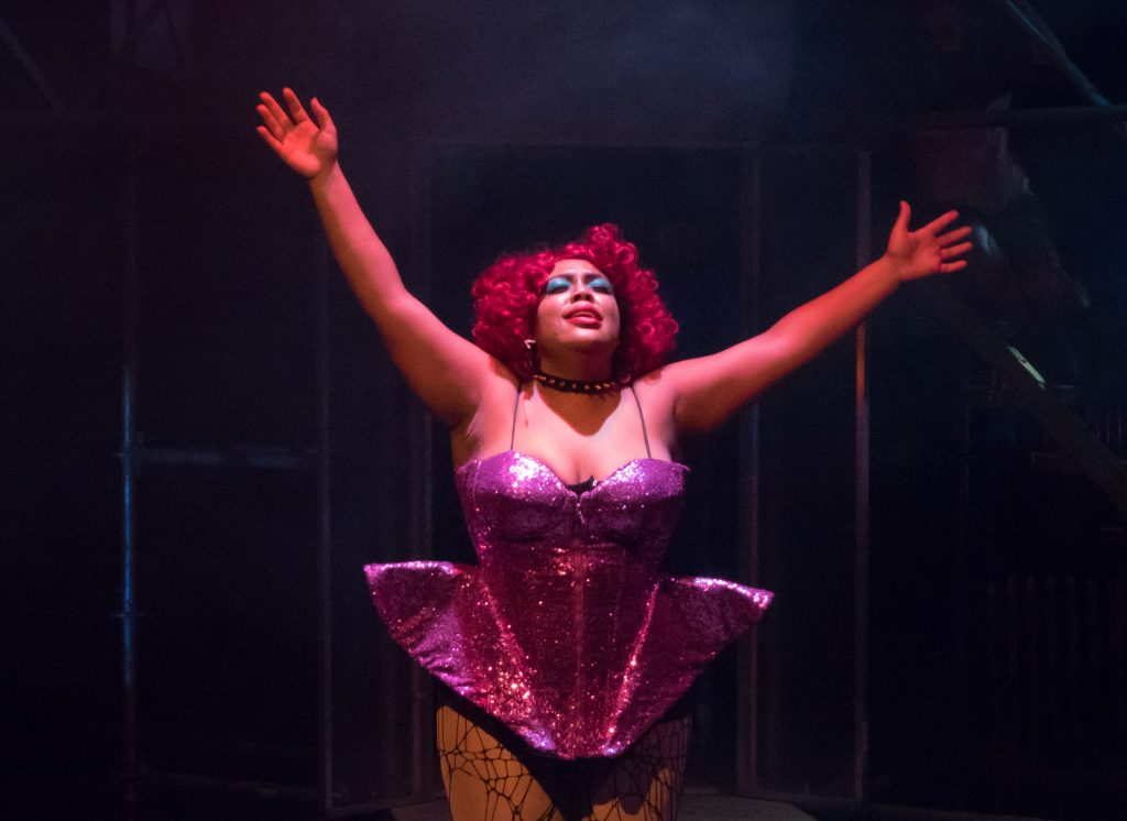 Tiny Home Designs: With Kiona D. Reese As Dr. Frank N. Furter, Out Front