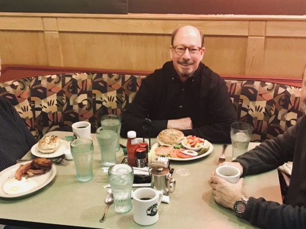 You Know Their Voices. Now, Meet the Dedicated, Dependable Men of TOAST (The Old Announcers at Shoney's on Tuesday)