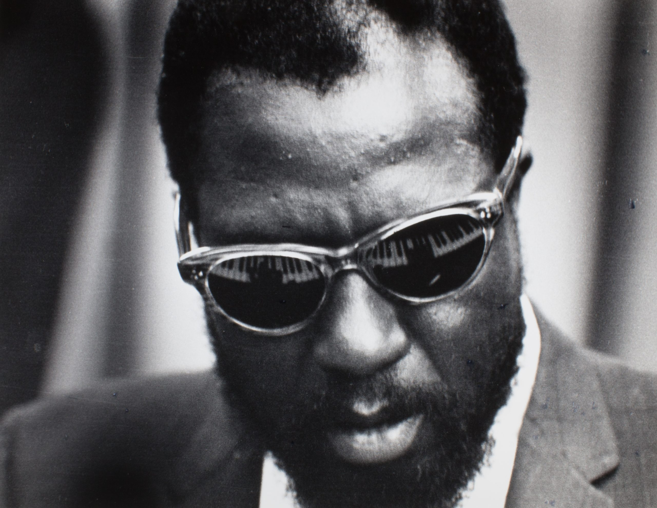 Pianist Thelonious Monk, United Nations, NYC, 1960